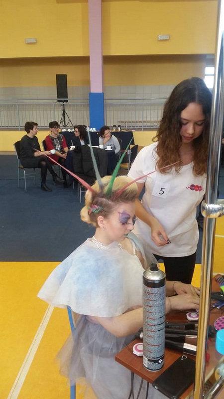 Konin Archiwum Zstih Sukcesy W Konkursie Fryzjerskim W Kaliszu